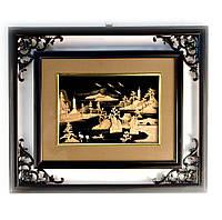 Картина из пробкового дерева (51х44 см)