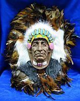 Голова индейца (40х31 см)
