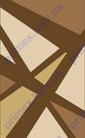 """Коврик Флорида """"полосы абстракция"""" цвет коричневый. Купить ковер Киев недорого"""