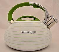 Чайник газовый с индукцией в разноцветную полоску, Ronner TW 9