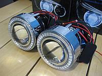 """Монолинзы Infolight ПТФ 2.0"""" с Ангельскими глазками светодиодными (LED)"""