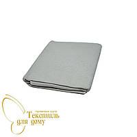 Полотенце для сауны 100*180, вафельное/махра, серый