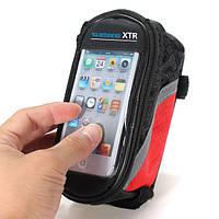 Велосумка на раму под смартфон 4.2″