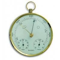 20300632. Барометр TFA с термометром и гигрометром, пластик, d=135 мм