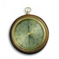 45100001B. Барометр TFA с термометром, дуб, 120 мм, d=105 мм