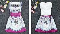 Модное женское платье без рукавов с рисунком, жаккардовая ткань, нарядное платье, летнее платье