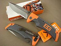 Великолепный нож gerber scout bear grylls со складным клинком -я – легкий,  прочный, стильный и надежный