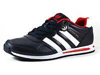 Кроссовки Adidas PEACHTRD мужские темно-синие/ белая подошва, фото 1