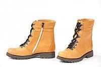Ботинки на шнуровке деми-зима