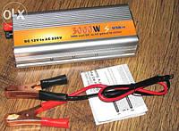Преобразователь напряжения(инвертор)12-220V 3000W 12-220В 3000Вт.