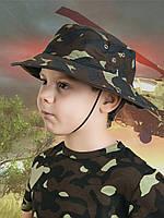Панама детская для мальчиков камуфляж Украина от 4 до 10 лет