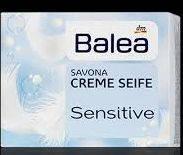 Мыло кусковое для чувствительной кожи Balea Creme Seife Sensitive