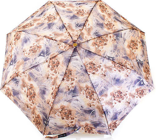Женский, оригинальный зонт, автомат, система антиветер ТРИ СЛОНА RE-E-127-7