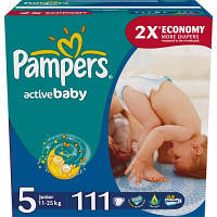 Детский подгузник PAMPERS Active Baby Junior (11-25 кг) Мега Упаковка 111