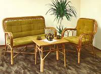 Кофейный столик из лозы СЖ-4