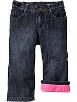 Детские теплые штаны с флисовой подкладкой  Old Navy