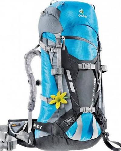 Качественный, хайкинговый женский  рюкзак на 35 л. ACT DEUTER GUIDE LITE 35 SL, 33644 3711 синий
