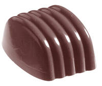 """Поликарбонатная форма Greenline для конфет """" Полосатый бонбон"""""""