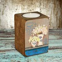Подсвечник Цветочная ваза