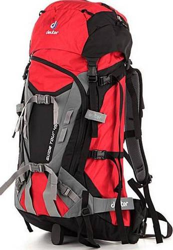 Вместительный, туристический женский  рюкзак на 45 л. ACT DEUTER GUIDE TOUR 45, 33634 0510 красный
