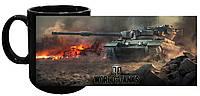 Кружка World of Tanks 03 (чёрная)