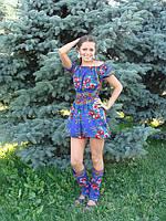 Сарафан мини шорты-юбка