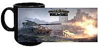 Кружка World of Tanks 05 (чёрная)