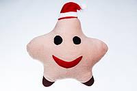 Игрушка - подушка Новогодняя звезда