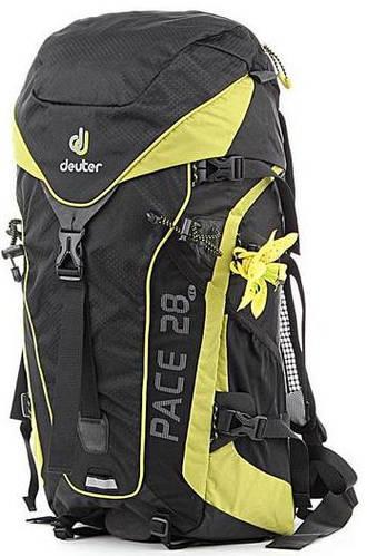 Вместительный, туристический женский  рюкзак на 28 л. ACT DEUTER PACE 28 SL, 33610 7220 зелёный