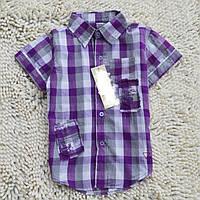 Детская летняя рубашка на мальчика