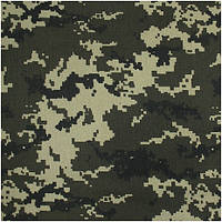 Ткань Саржа камуф. 118777  СК1720 Рис.ЦИФРА 150СМ ПЛ 210 г/м2