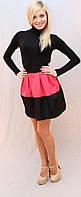 Юбка колокол розовая, фото 1