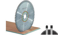 Пильный диск 160х20х2,2 с трапециевидными плоскими зубьями TF 48 Festool