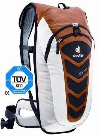 Лёгкий, удобный рюкзак на 14 л. ACT DEUTER VENOM 14, 33518 960 коричневый