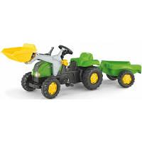 Трактор Педальный с Прицепом и Ковшом Rolly Toys 23134