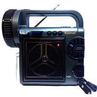 Светодиодный аккумуляторный фонарь с радио KEMAI MD-2811U