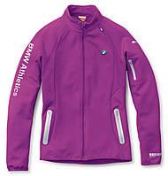 Женская куртка BMW Ladies' Athletics Softshell Jacket Berry