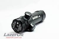 Лазерный прицел Laser scope (зеленый луч + два крепления)