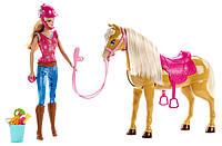 Игровой набор Барби на конюшне Barbie MATTEL