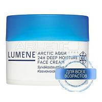 Интенсивный увлажняющий крем 24 -часового действия для нормальной и сухой кожи - Lumene Arctic Aqua 24H Deep M