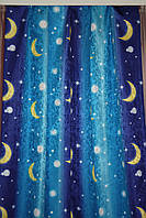 Штора Оул  Звезды и луна