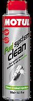 Промывка топливной системы (бензин) Motul Fuel System Clean (300мл)