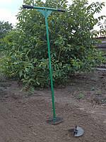 Универсальный садовый  ручной бур со съемными насадками