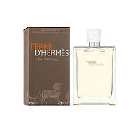 Hermes Terre men Eau Tres Fraiche 125ml edt тестер Туалетная вода Оригинал