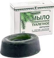 Мыло глицериновое «Фитолон» с пастой хвойной хлорофилло-каротиновой Арго против микробов, раны, угри, порезы