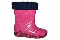 Резиновые сапоги для девочки  ZETPOL(Польша) (Розовые)