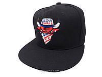 Черная кепка Chicago Bulls