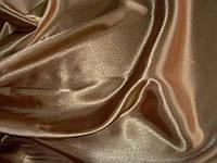 Комплект постельного белья Атласное бронзовое