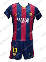 Детская футбольная форма Барселона 2014-2015 Месси (Barcelona Messi), фото 1