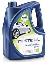 Масло моторное Neste Oil City Pro 5W40,  4 л